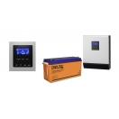 Резервная система электроснабжения «Коттедж 4000 Вт / 8 кВт»