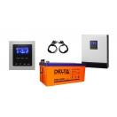 Резервная система электроснабжения «Дача 2400 Вт/ 4 кВт»